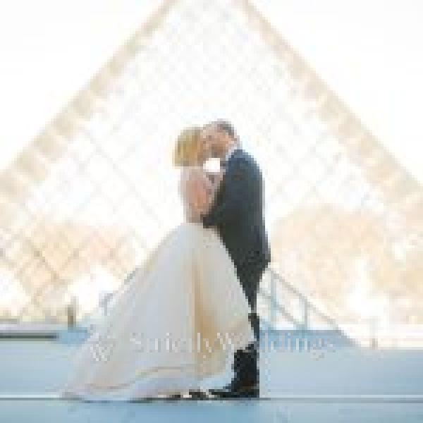 Intimate + Romantic Paris Wedding | Strictly Weddings