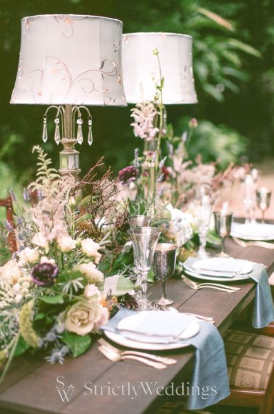 The Perfect Something Blue Wedding Inspiration