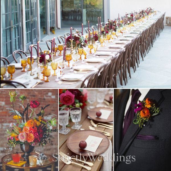 Top Wedding Trends for Fall 2016