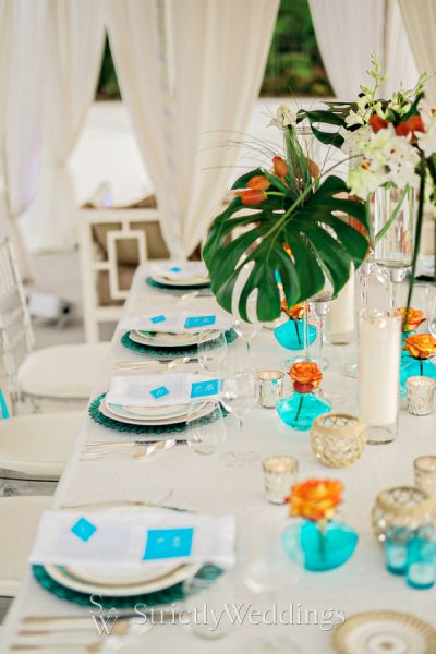 Modern Luxury Poolside Party Inspiration