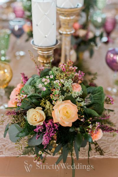 Vintage Wedding Inspiration with a Bohemian Twist