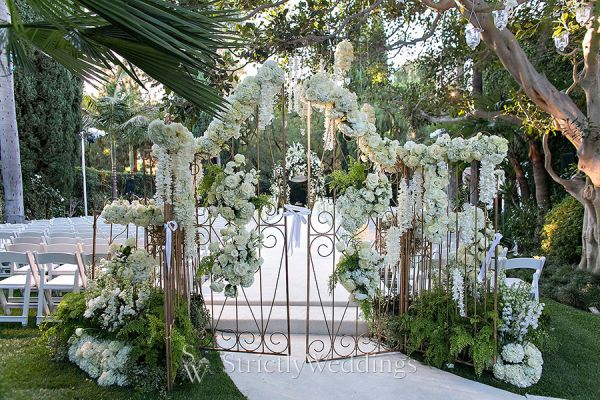 Elegant Wedding in Beverly Hills  Strictly Weddings