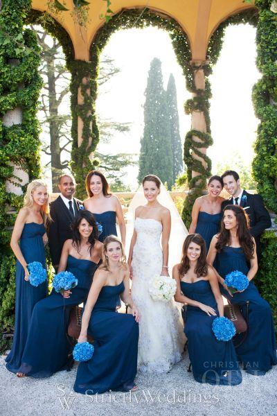 Old World Charm Lake Como Wedding