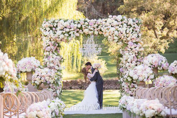 fairytale destination wedding at meadowood napa valley