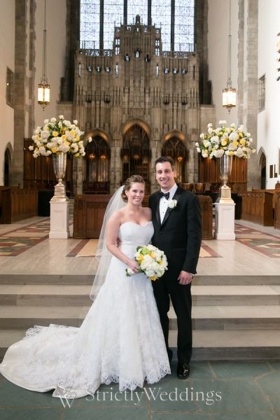Classic City Wedding at Chicago Cultural Center