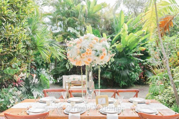 Tropical Garden Inspired Wedding Ideas