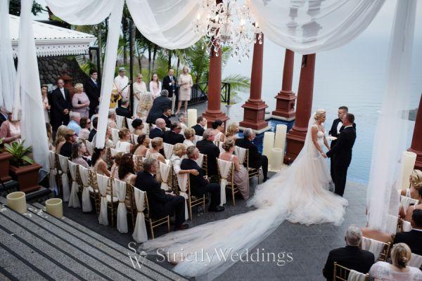 Glamorous Costa Rica Wedding Day