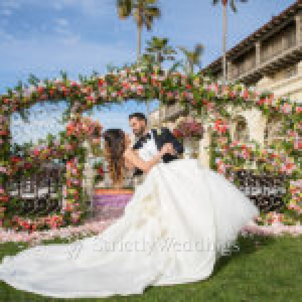Unbelievable Outdoor Luxury Wedding in California | Strictly Weddings