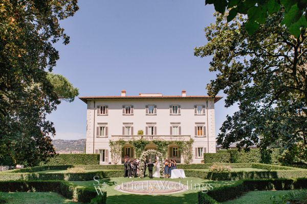 Romantic Destination Wedding in Florence