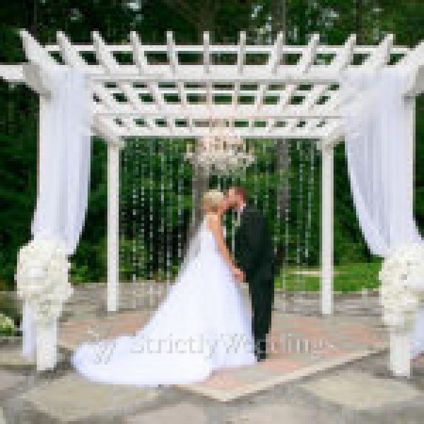 Ultimate Elegant Backyard Wedding | Strictly Weddings
