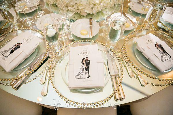Romantic Elegance Meets Modern Glam