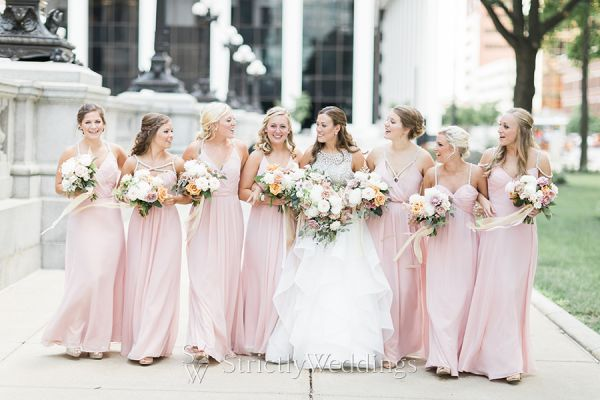 Students Become Part of Bride's Wedding Day