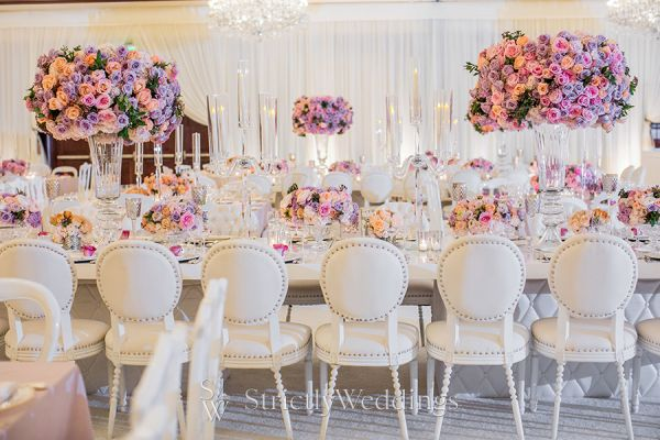 Eye Popping Wedding Decor and Floral