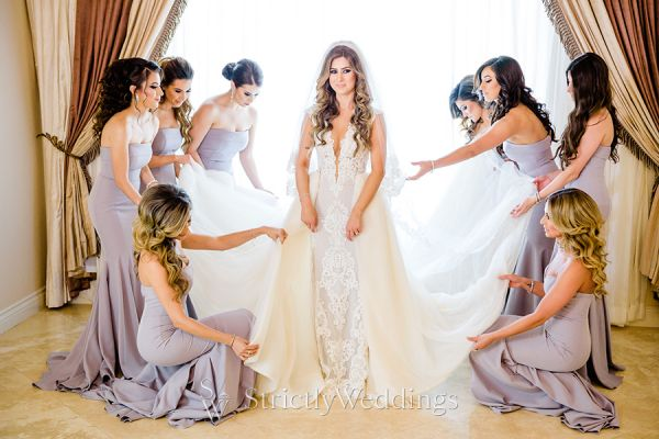 High Glamour Wedding Day in San Diego