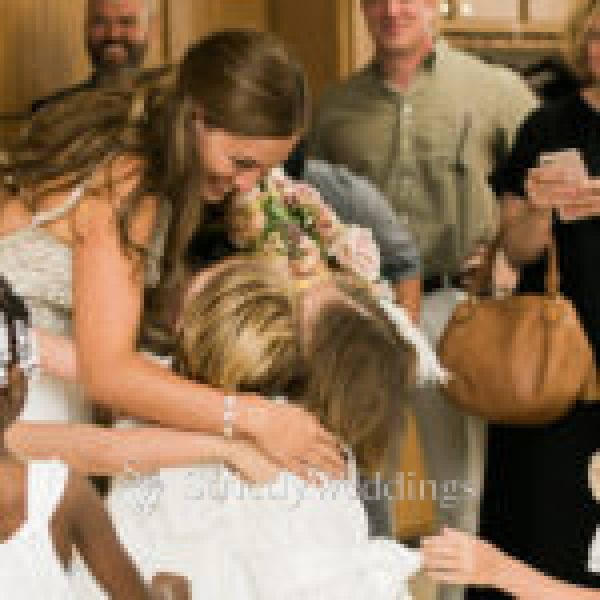 Students Become Part of Bride's Wedding Day   Strictly Weddings