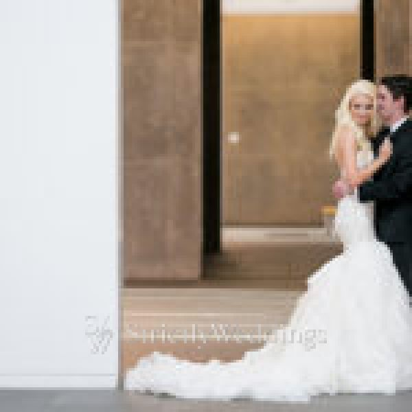 Stunning Modern Art Museum Wedding Reception | Strictly Weddings