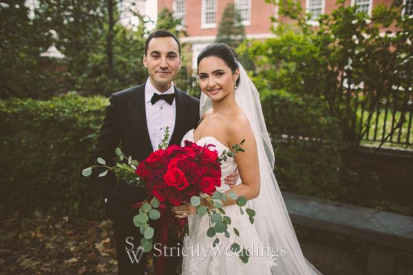 French Chateau Garden Philadelphia Wedding