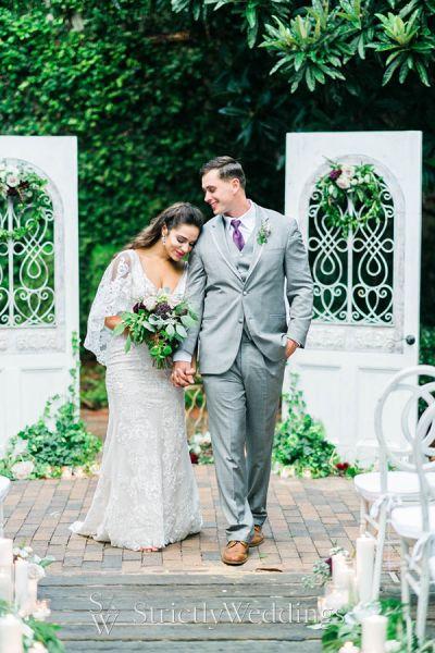Organic Fall Garden Wedding Ideas