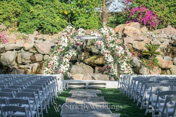 Boho Glam California Summer Wedding