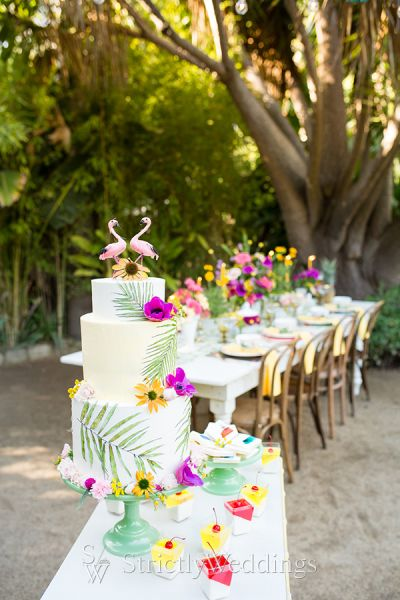 Happy Summer Time Wedding Inspiration