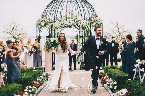 Modern Chic Outdoor Waterfront Wedding