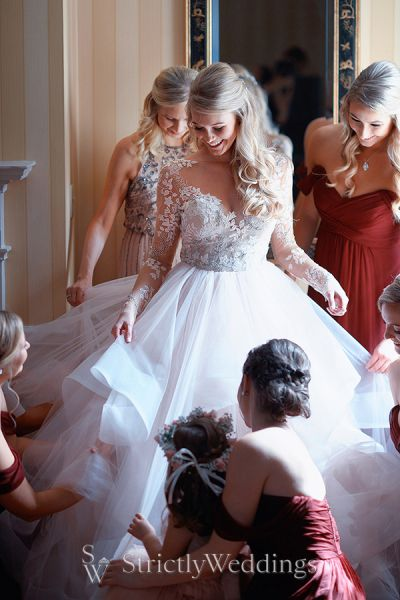Stunning Hayley Paige Bride Steals Show