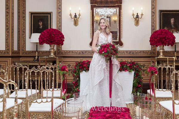 Valentine Wedding Inspired Shoot