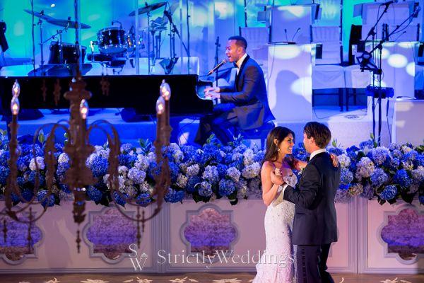 John Legend Surprises Wedding Guests