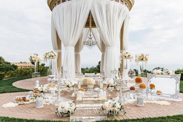 Glamorous Outdoor California Wedding