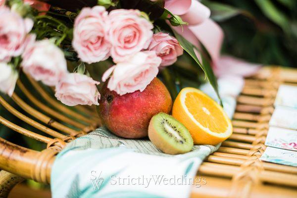 Tropical Themed Botanical Garden Wedding