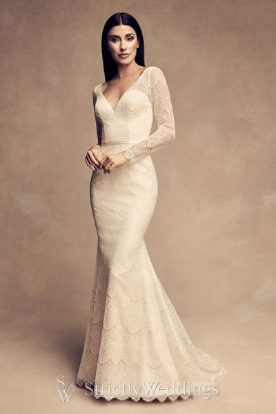 New Romantic Feminine Wedding Dresses of Paloma Blanca