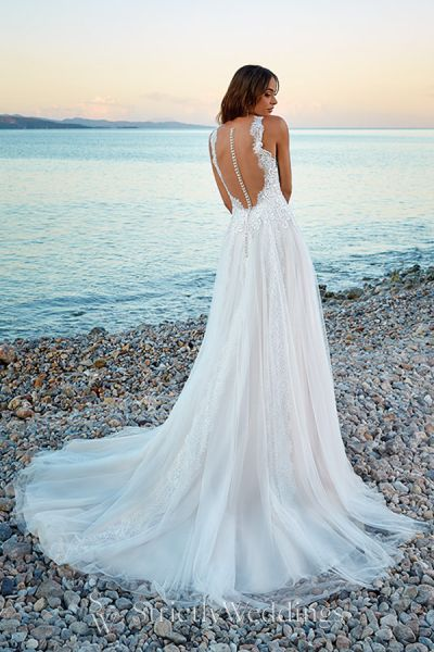 Mediterranean Inspired Eddy K Wedding Dress Dreams Collection