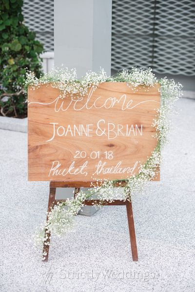 Elegant All Baby's Breath Wedding