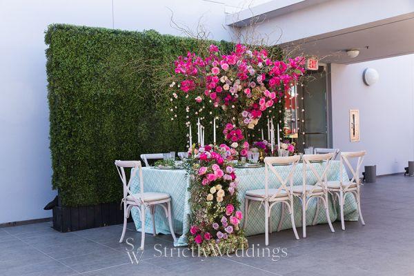 Bridal Shower Tea Party Tablescape Decor