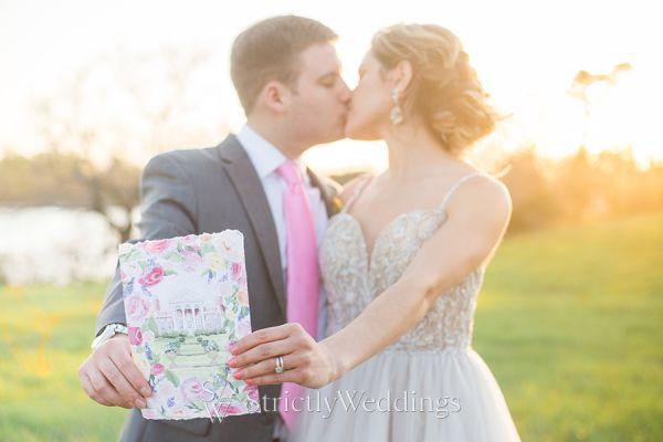 Bright Colored Wedding Splendor in Annapolis