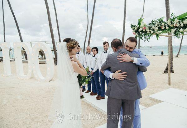 Enzoani Bride's Beach Destination Wedding