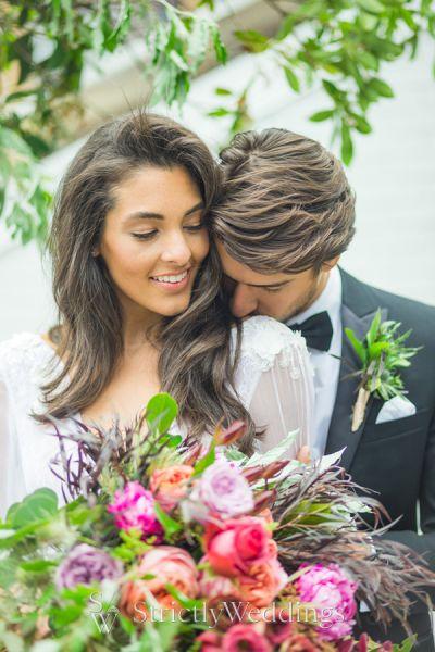 Romantic City Rooftop Wedding Vibes