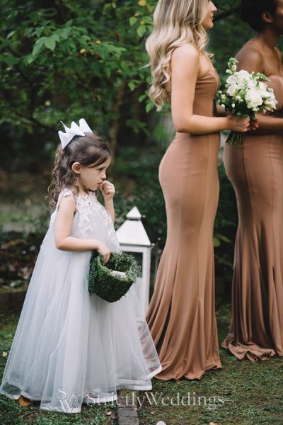 Soft Fall Hued Outdoor Wedding