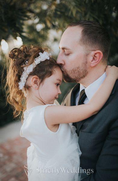 Bride's Daughter Inspired Blended Family Wedding