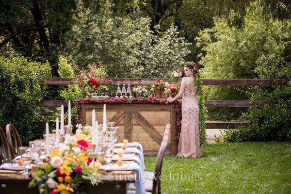 Chic Rustic Equestrian Wedding Ideas