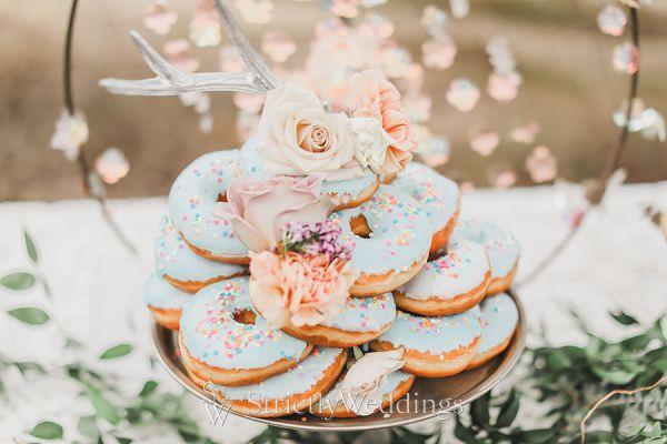 Earthy Whimsical Bohemian Wedding Trend
