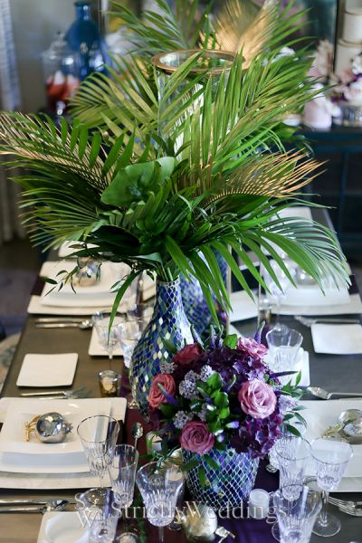 Bold Jewel Tone Luxury Wedding Ideas